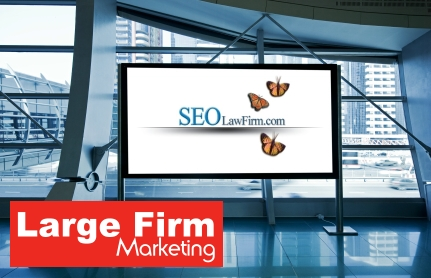 Large law firm marketing plans
