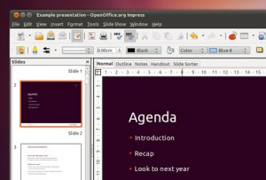 Ubuntu Open Office Presentation
