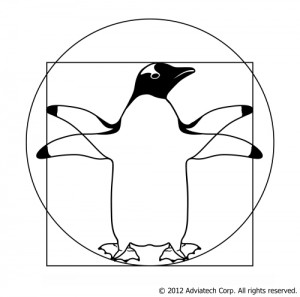 Google Penguin - &copy 2012 Adviatech Corp. All rights reserved.
